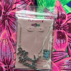 Miss March Playboy Necklace, EXTREMELY RARE. New!